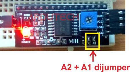 address modul I2C LCD