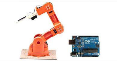 Kontrol Robot Arm dengan Arduino