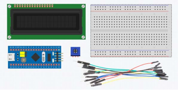 Interfacing LCD 16×2 dengan Mikrokontroler STM32