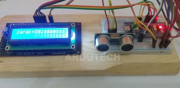 Proyek STM32 dengan Sensor Ultrasonik