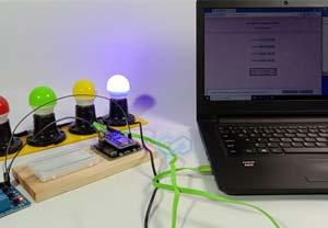 Kontrol Lampu Webpage